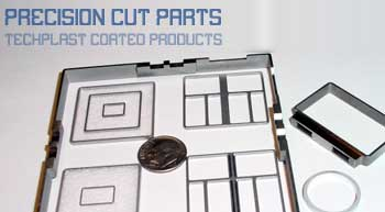 Precision cut plastic parts.